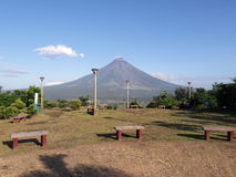 Ligñon Hill. A Hill in Legazpi City found in Daraga, Albay royalty free stock photos