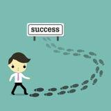 Ligação ao sucesso ilustração royalty free