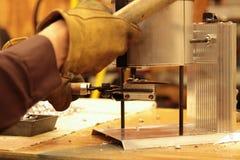 Ligação de derramamento para o recarregamento da bala Fotografia de Stock Royalty Free