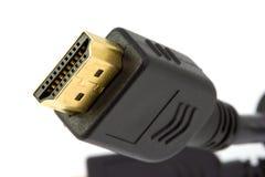 Ligação de HDMI Imagens de Stock