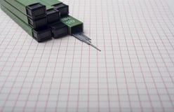 Ligação de lápis mecânica Imagens de Stock Royalty Free