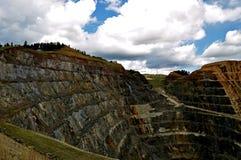 Ligação South Dakota da mina de Homestake imagens de stock
