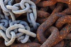 Ligações Chain Fotografia de Stock Royalty Free