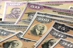 Ligações de economias do Estados Unidos Foto de Stock Royalty Free