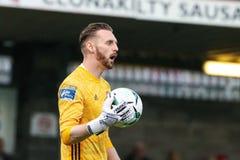 Liga av Irland den f?rsta uppdelningsmatchen mellan Cork City FC vs Derry City FC royaltyfri foto