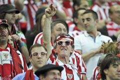 Liga Bucarest final 2012 del Europa de la UEFA Fotografía de archivo