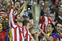 Liga Bucarest final 2012 del Europa de la UEFA Fotos de archivo libres de regalías