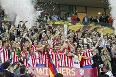 Liga Bucareste final 2012 do Europa do UEFA Imagem de Stock