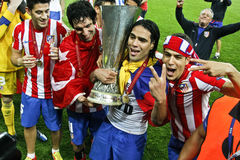Liga Bucareste final 2012 do Europa do UEFA Fotos de Stock
