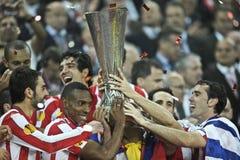 Liga Bucareste final 2012 do Europa do UEFA Fotografia de Stock