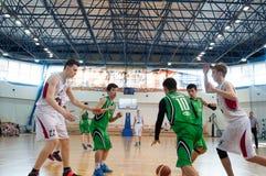 Liga de baloncesto europea de la juventud Imagenes de archivo