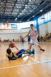 Liga de baloncesto europea de la juventud Fotos de archivo