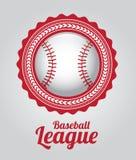Liga de basebol ilustração do vetor