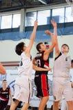 Liga de basquetebol europeia da juventude Foto de Stock