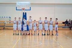 Liga de basquetebol europeia da juventude Imagens de Stock
