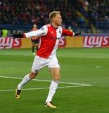 Liga de campeões de UEFA: Shakhtar Donetsk v Feyenoord foto de stock royalty free