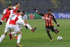 Liga de campeões de UEFA: Shakhtar Donetsk v Feyenoord fotografia de stock
