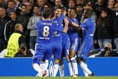 Liga de campeones de UEFA del fútbol Chelsea v Juventus foto de archivo