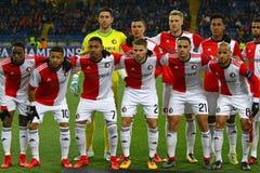 Liga de campeones de UEFA: Shakhtar Donetsk v Feyenoord imagen de archivo libre de regalías