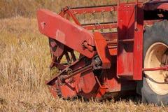 Liga de colheita lateral no por do sol Imagens de Stock Royalty Free