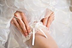 Liga de la boda Foto de archivo libre de regalías