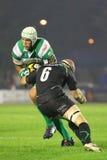 Liga del Celtic del rugbi; Benetton contra Connacht fotografía de archivo libre de regalías