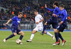 Liga del Europa de la UEFA: FC Dynamo Kyiv v SS Lazio imagen de archivo