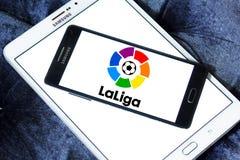 Liga del La, logotipo español de la liga Imágenes de archivo libres de regalías
