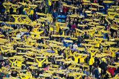 Liga do Europa do Uefa: Villarreal CF v Liverpool FC fotografia de stock