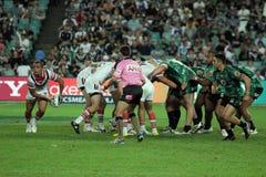 Liga do rugby de NRL imagens de stock