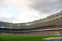 Liga för UEFA-mästare: FC Dynamo Kyiv V Young Boys arkivfoton
