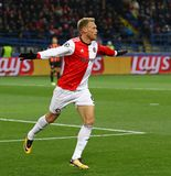 Liga för UEFA-mästare: Shakhtar Donetsk V Feyenoord royaltyfri foto