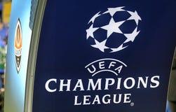 Liga för UEFA-mästare: Shakhtar Donetsk V Feyenoord Arkivbild
