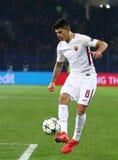 Liga för UEFA-mästare: Shakhtar Donetsk V Roma arkivbilder
