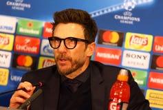 Liga för UEFA-mästare: Shakhtar Donetsk V Roma arkivfoto