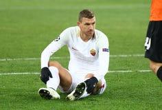 Liga för UEFA-mästare: Shakhtar Donetsk V Roma royaltyfria bilder