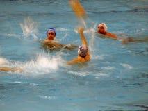 Liga italiana do polo de água A1 em Florença Imagem de Stock