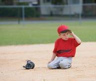 liga little spelarebarn royaltyfria bilder