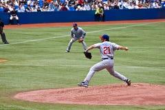 Liga Nacional de Basebol: Marquês de Jason Fotografia de Stock Royalty Free