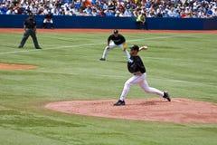 Liga Nacional de Basebol: Roy Halladay Foto de Stock