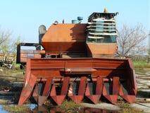 A liga oxida ao ar livre Foto de Stock