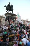 Liga septentrional Milan October 18, 2014 Imagen de archivo