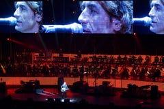 Ligabue στη συναυλία Στοκ φωτογραφίες με δικαίωμα ελεύθερης χρήσης