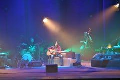 Ligabue, Quasi acustico - Tour teatri 2011 Royalty Free Stock Image