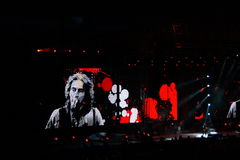 Ligabue San Siro Milan July 16, 2010 Royalty Free Stock Photos
