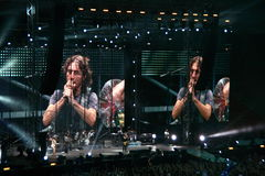 Ligabue San Siro Milan July 16, 2010 Stock Photography