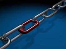 Ligações Chain Foto de Stock