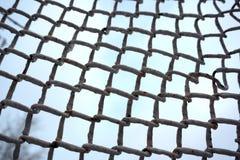 Ligando entidades Trabalhos em rede, meio social, SNS, sumário de uma comunicação do Internet Rede pequena conectada a uma rede m fotografia de stock royalty free