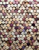 Lièges de vin Photographie stock