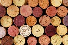 Lièges de vin Photo stock